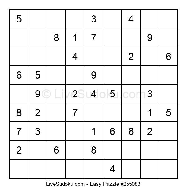 Beginners Puzzle #255083