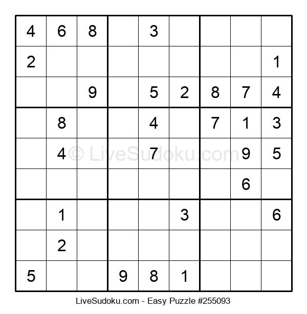 Beginners Puzzle #255093