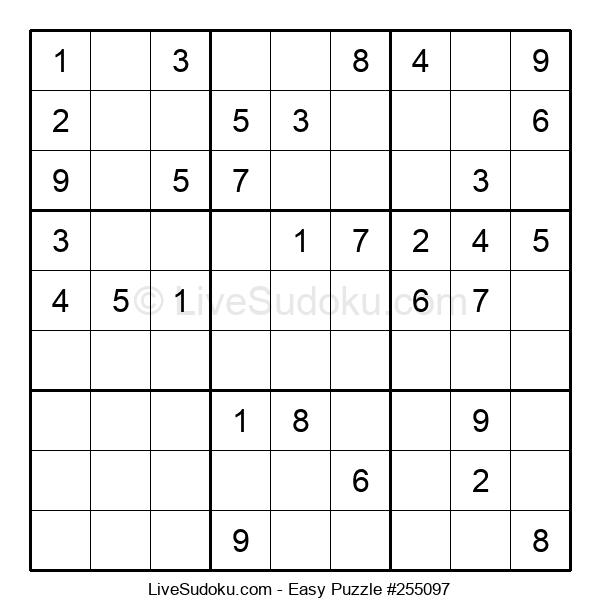 Beginners Puzzle #255097