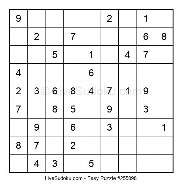 Beginners Puzzle #255098