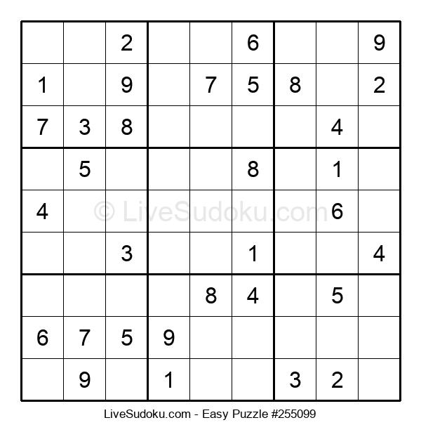 Beginners Puzzle #255099