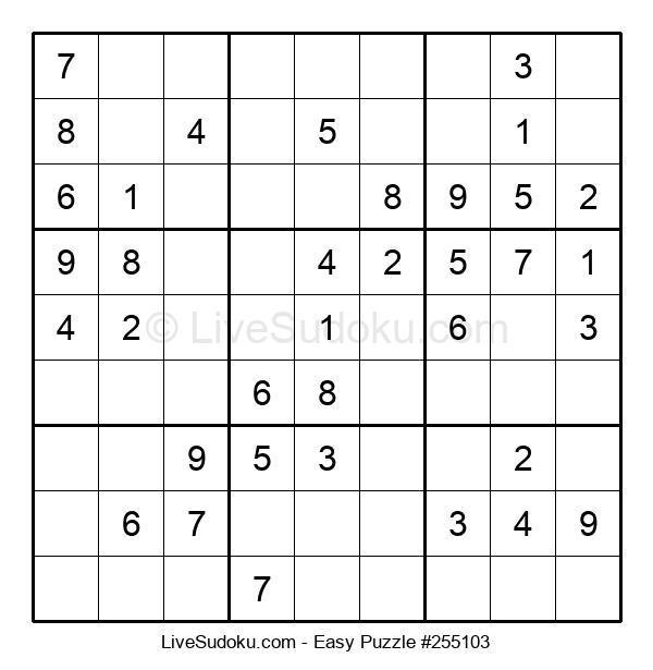 Beginners Puzzle #255103