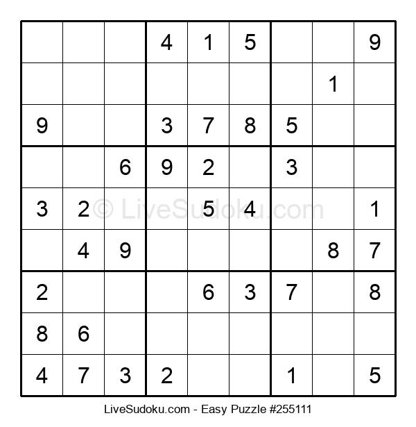 Beginners Puzzle #255111