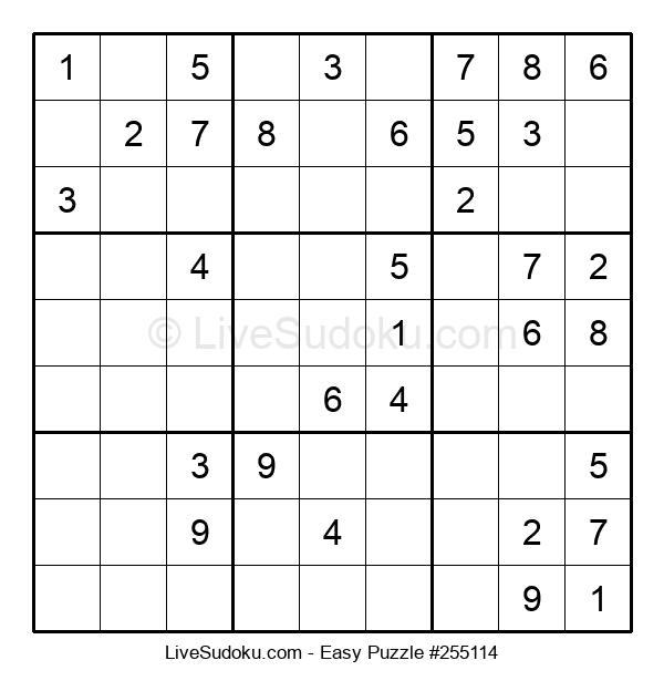 Beginners Puzzle #255114