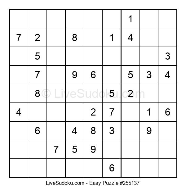 Beginners Puzzle #255137