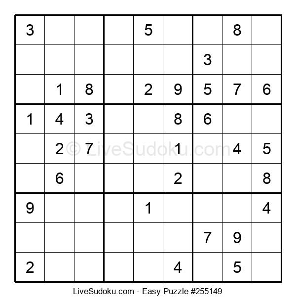 Beginners Puzzle #255149