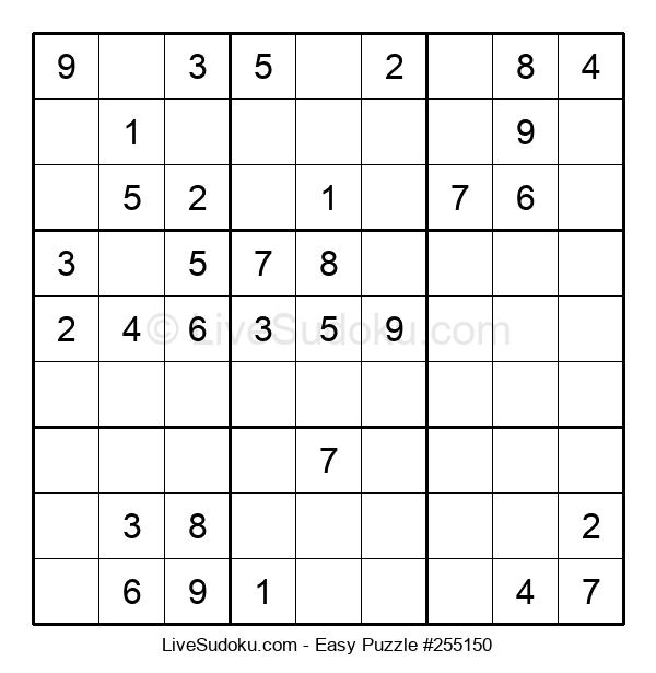 Beginners Puzzle #255150