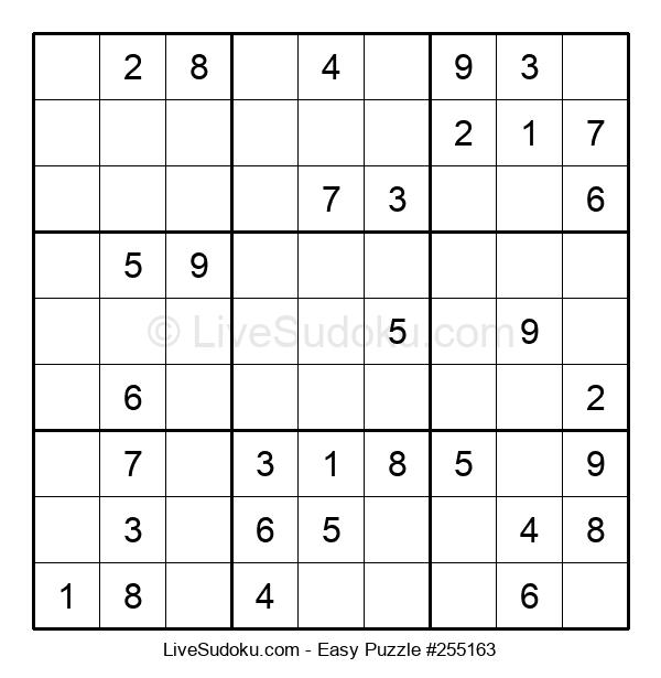 Beginners Puzzle #255163