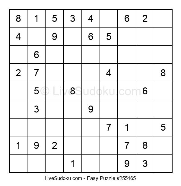 Beginners Puzzle #255165