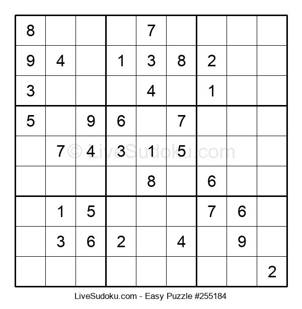Beginners Puzzle #255184