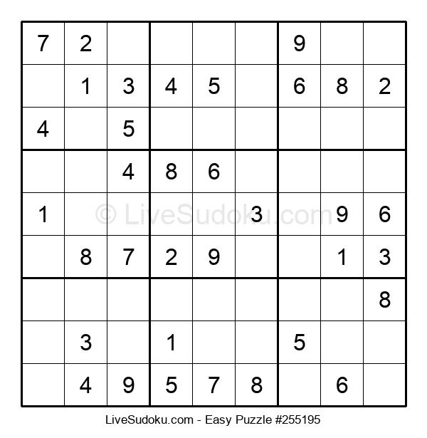 Beginners Puzzle #255195