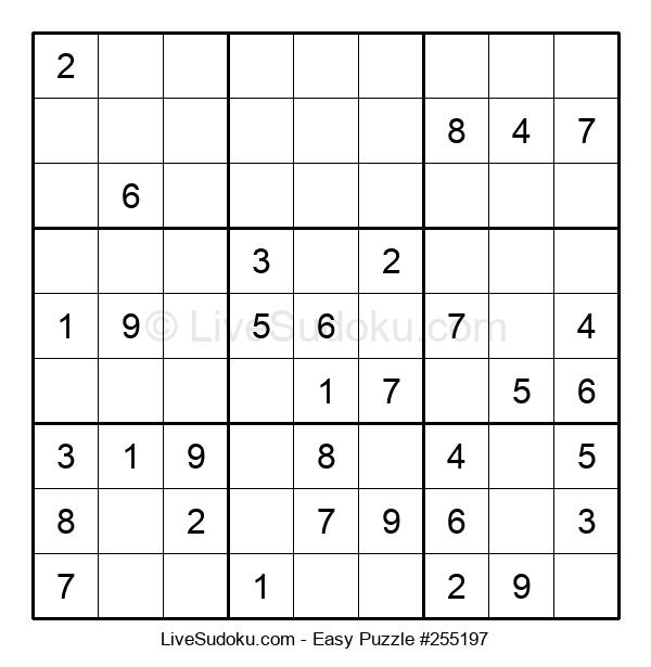 Beginners Puzzle #255197