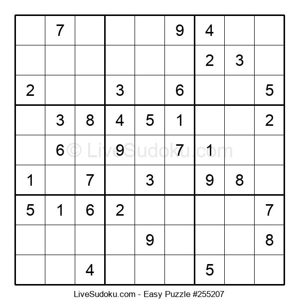 Beginners Puzzle #255207