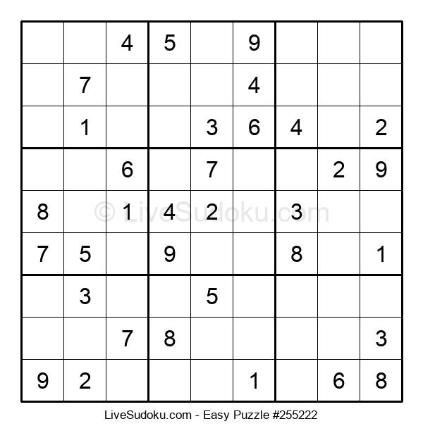 Beginners Puzzle #255222