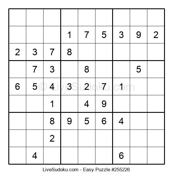 Beginners Puzzle #255226