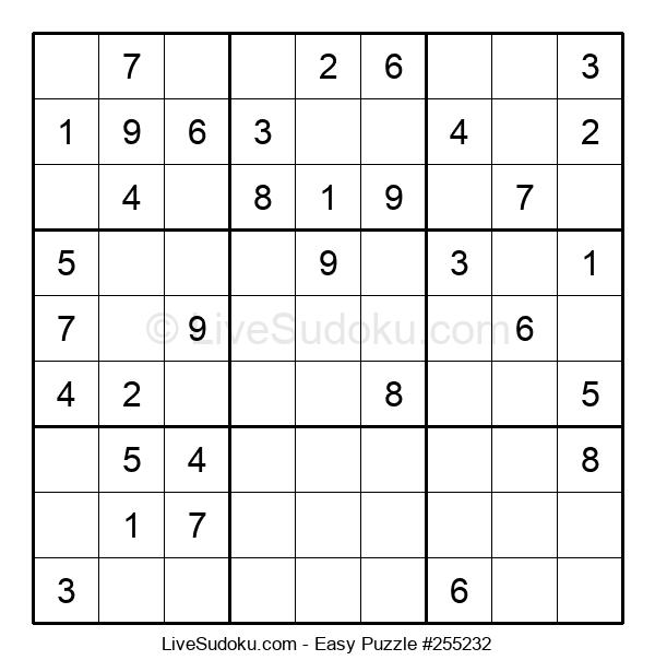 Beginners Puzzle #255232