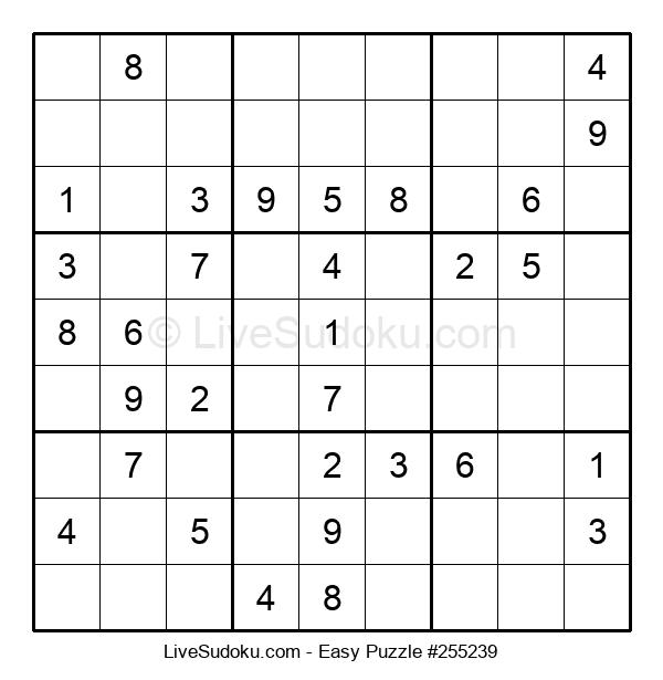 Beginners Puzzle #255239