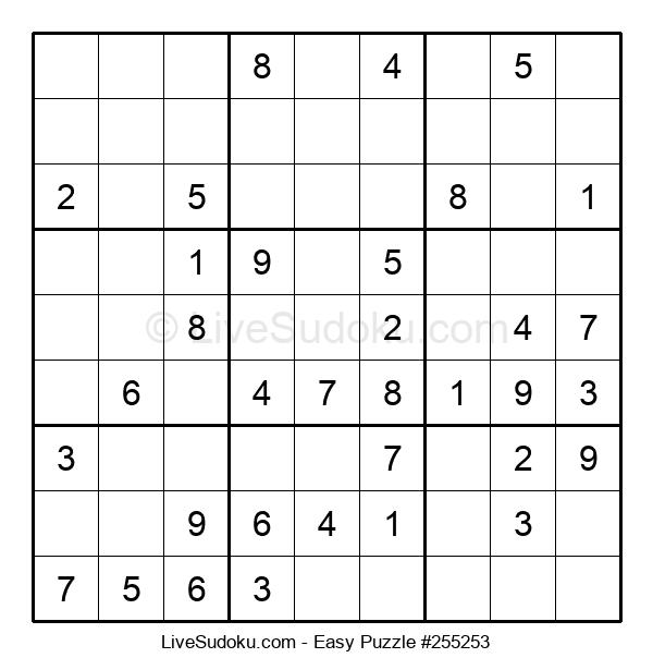 Beginners Puzzle #255253