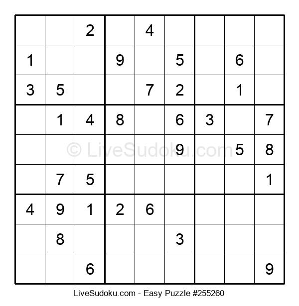 Beginners Puzzle #255260