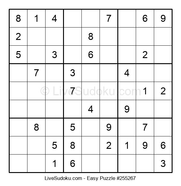 Beginners Puzzle #255267