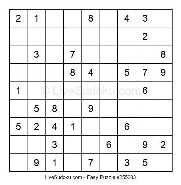 Beginners Puzzle #255283