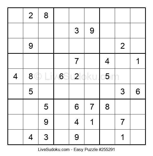 Beginners Puzzle #255291