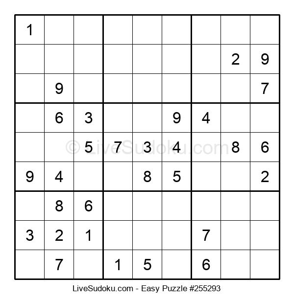 Beginners Puzzle #255293