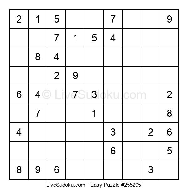 Beginners Puzzle #255295