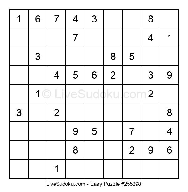 Beginners Puzzle #255298