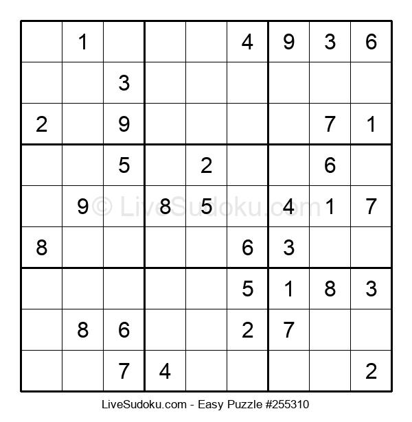 Beginners Puzzle #255310