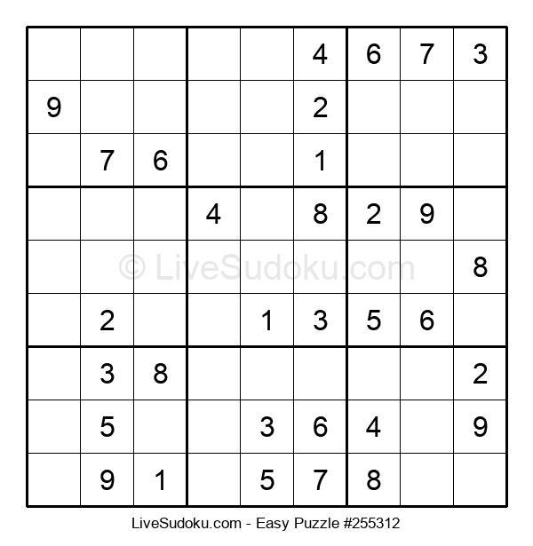 Beginners Puzzle #255312
