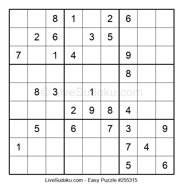 Beginners Puzzle #255315