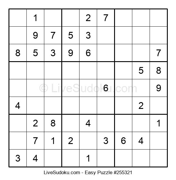 Beginners Puzzle #255321