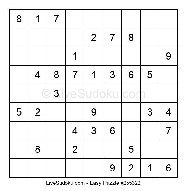 Beginners Puzzle #255322