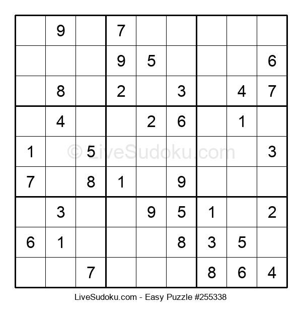 Beginners Puzzle #255338