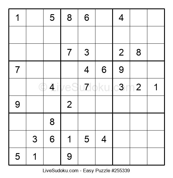 Beginners Puzzle #255339