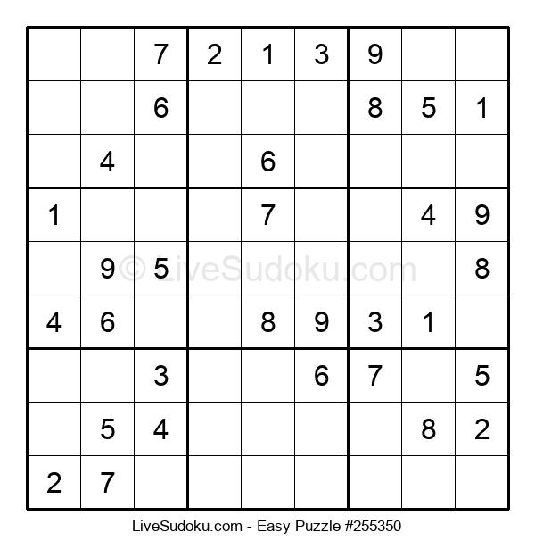 Beginners Puzzle #255350