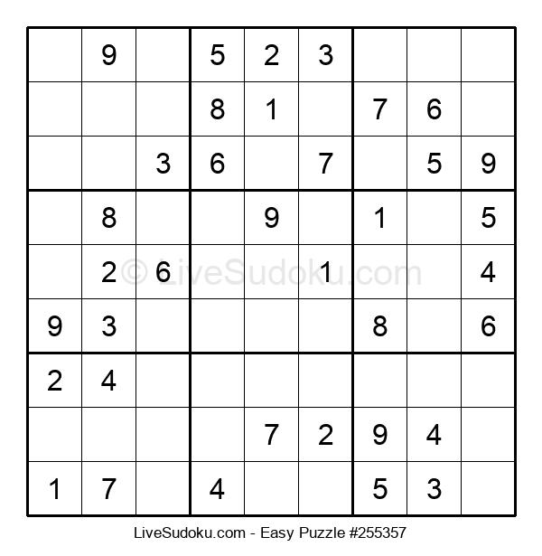 Beginners Puzzle #255357