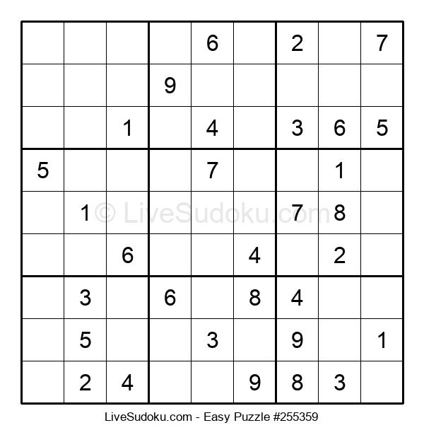 Beginners Puzzle #255359