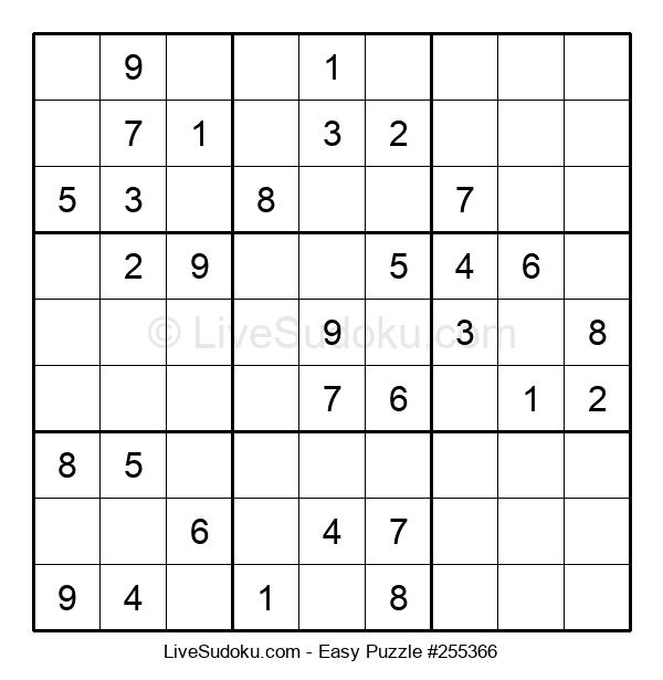 Beginners Puzzle #255366