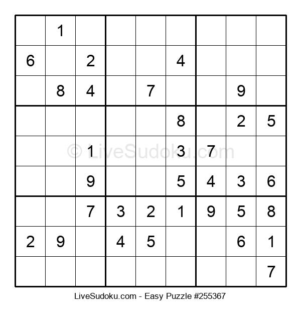 Beginners Puzzle #255367
