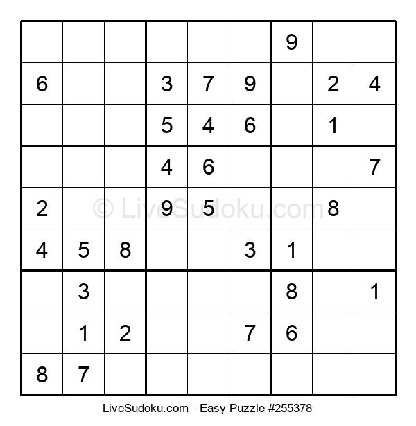 Beginners Puzzle #255378