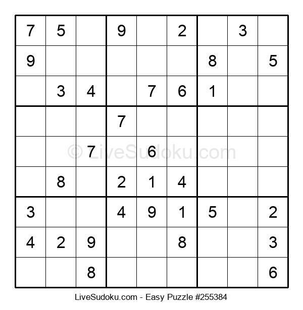 Beginners Puzzle #255384