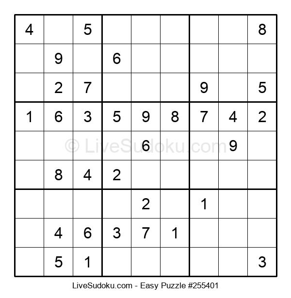 Beginners Puzzle #255401