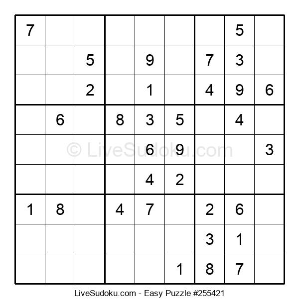 Beginners Puzzle #255421