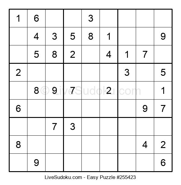 Beginners Puzzle #255423