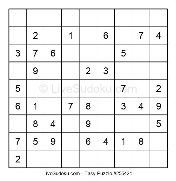 Beginners Puzzle #255424