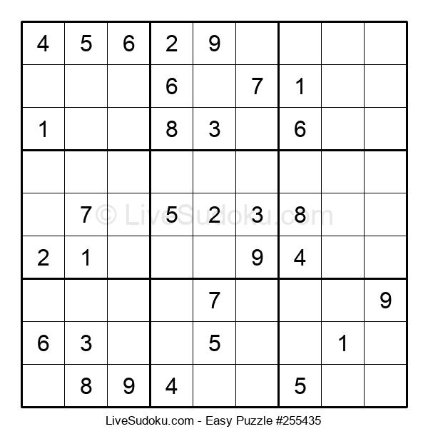 Beginners Puzzle #255435
