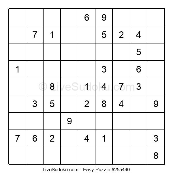 Beginners Puzzle #255440