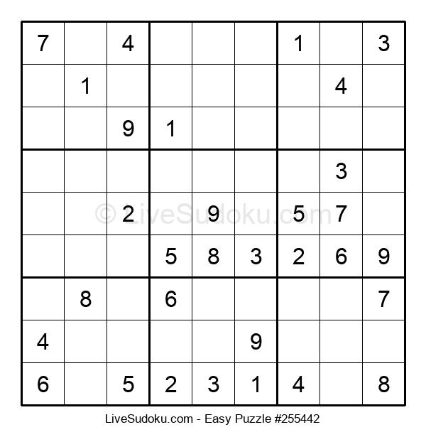 Beginners Puzzle #255442